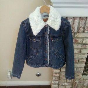 Levi's Vintage Women's Sherpa Jean Jacket